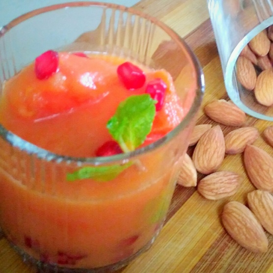 Photo of Papaya Punch Smoothie by Nandini Subramani at BetterButter