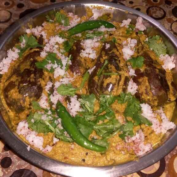How to make বাহারি বেগুন ইন পিনাট পনির গ্রেভি