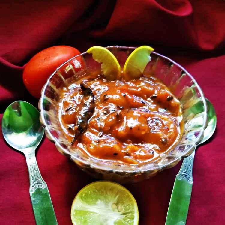 Photo of Khejur tomato amsoto chutney by Nandini Syam at BetterButter