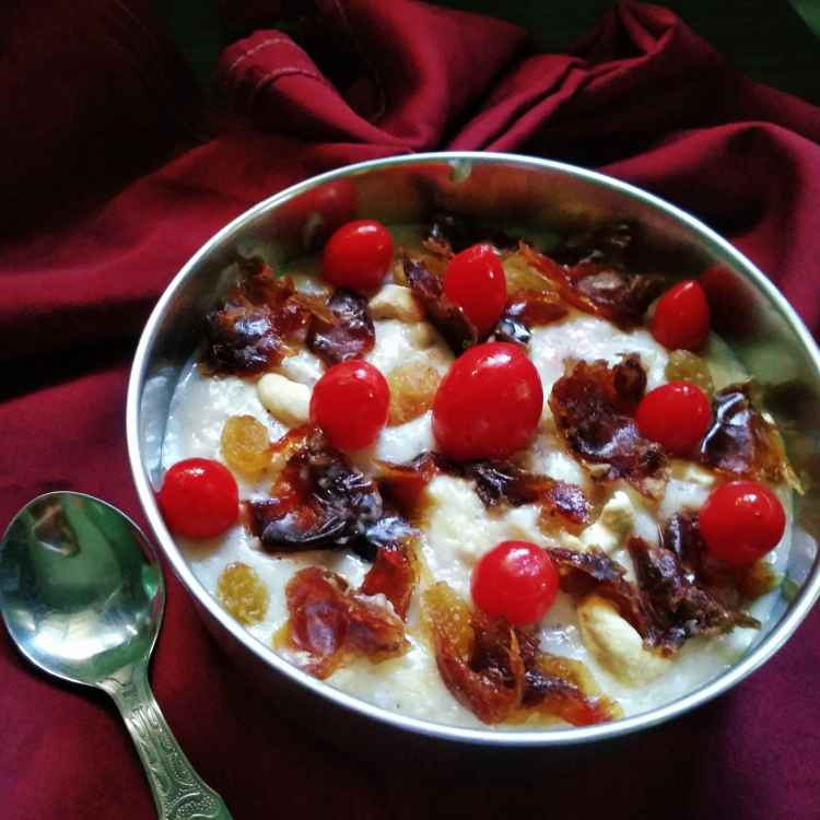 Photo of Fruits and nuts oats payesm by Nandini Syam at BetterButter