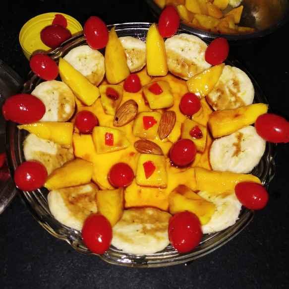 Photo of Mango caramalized banana custard by Nandini Syam at BetterButter