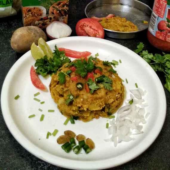 Photo of Chatpata Leftover Sukha Dal Alu Fry by Nandini Syam at BetterButter