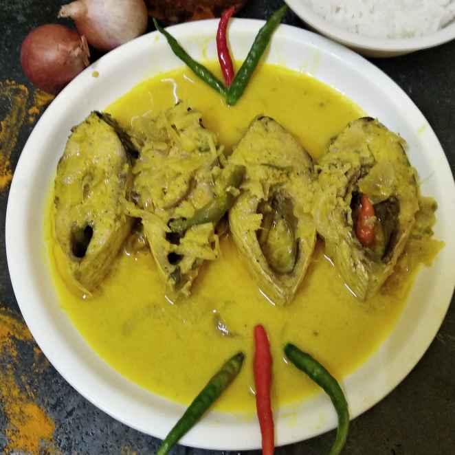 Photo of Bhapa doi posto ilish by Nandini Syam at BetterButter