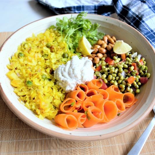How to make Poha Breakfast Bowl!