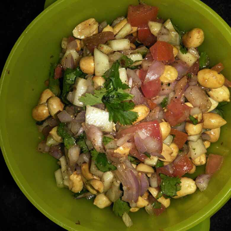Photo of masala peanut chaat by Nandita's kitchen yummy food recpies at BetterButter