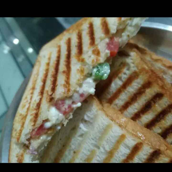 Photo of veg grilled sandwich by Nandita's kitchen yummy food recpies at BetterButter