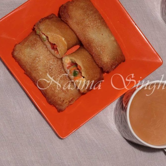 Photo of Cheesy Bread Pockets by Nasima Singh at BetterButter