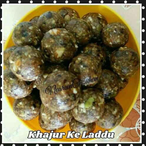How to make Khajur ke laddu