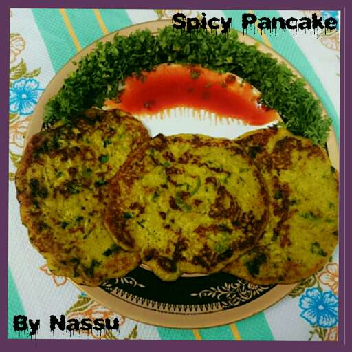 How to make Spicy pancake