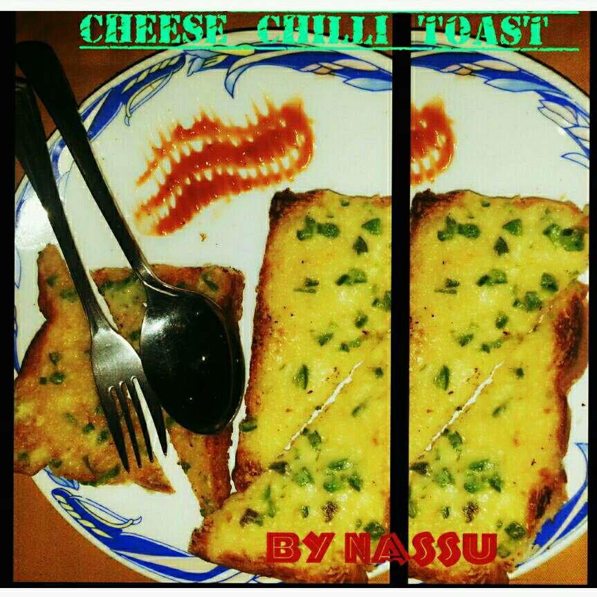How to make Cheese Chilli Toast