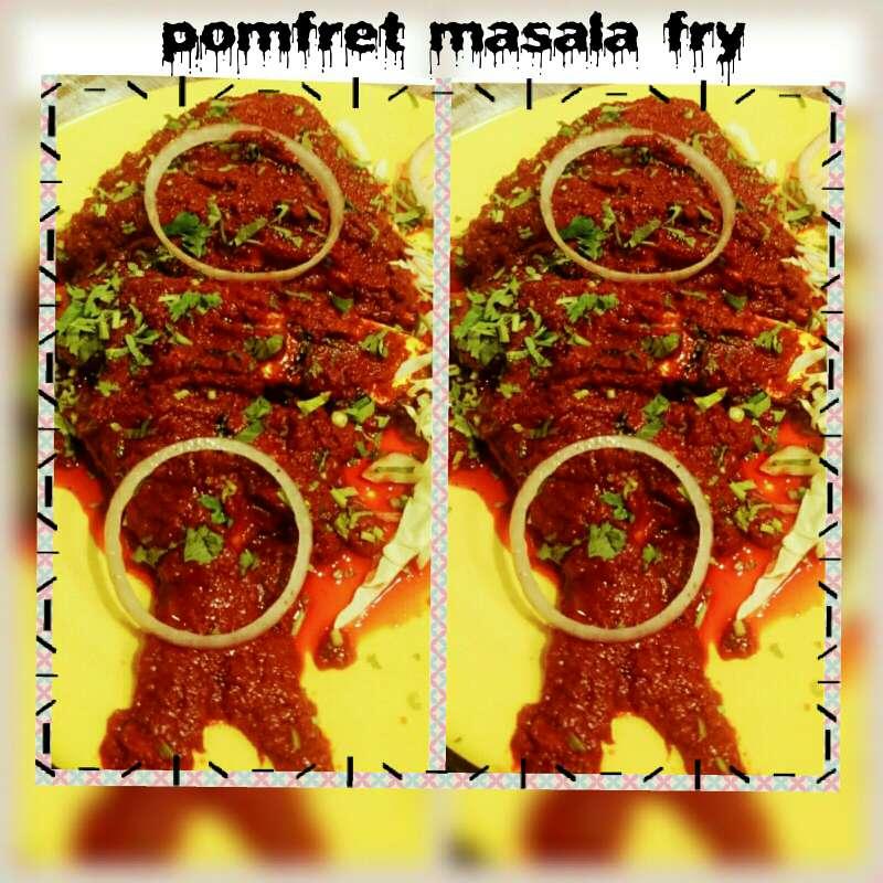 How to make Pomfret masala fry