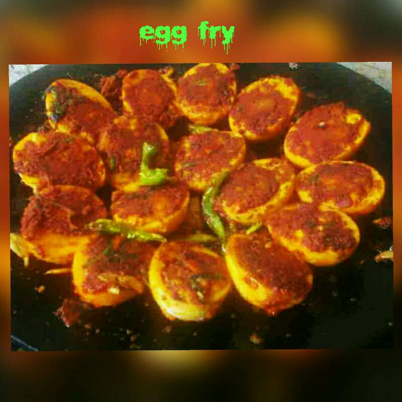 How to make Egg fry