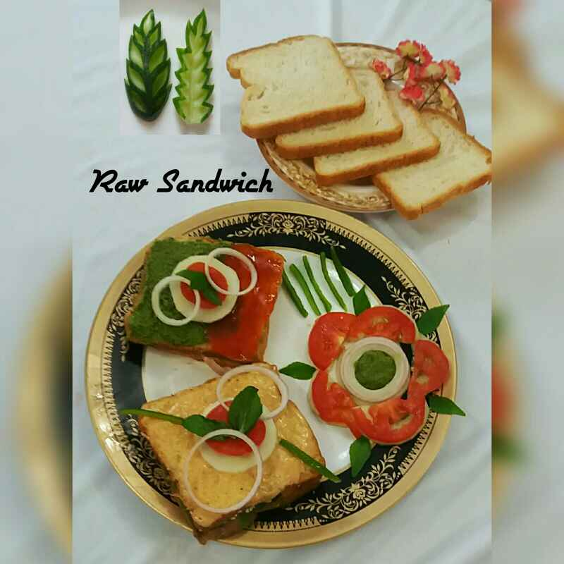 How to make Raw Sandwich