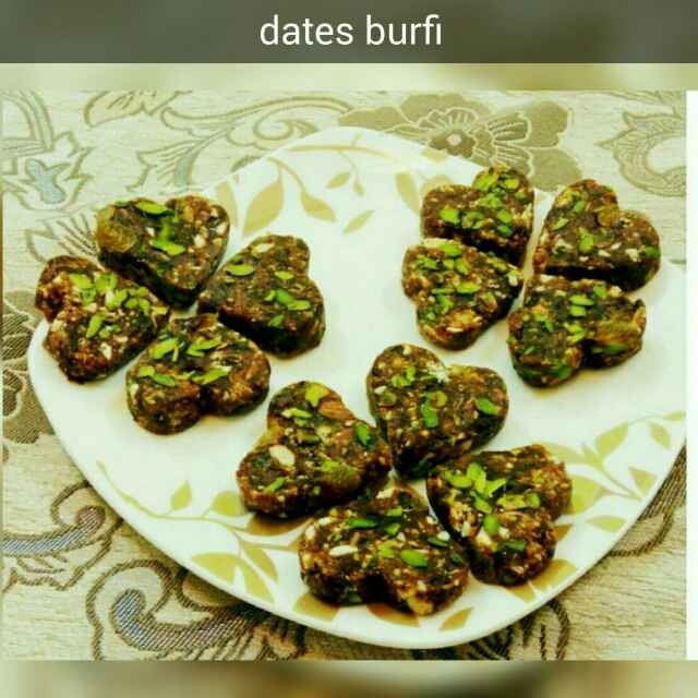Photo of Dates Burfi by Nassu , at BetterButter