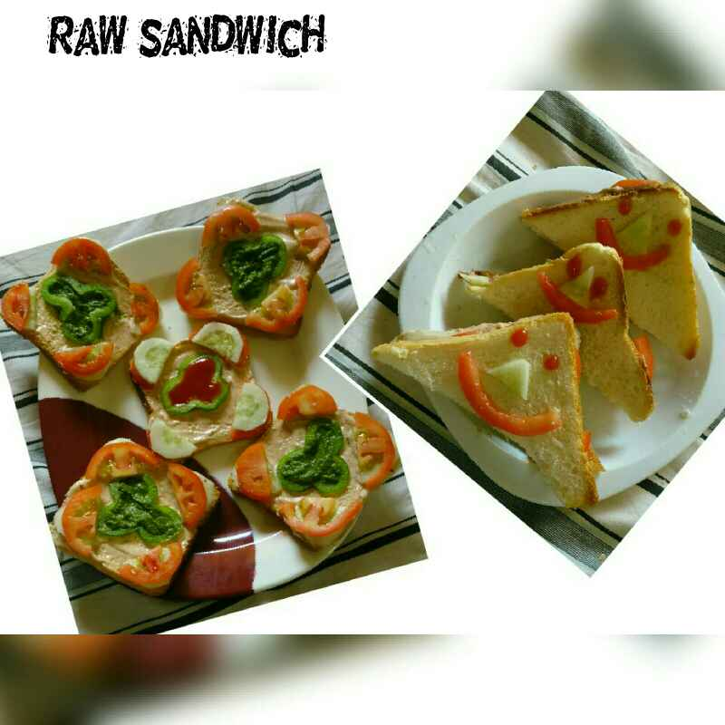 Photo of Raw Sandwich by Nassu , at BetterButter