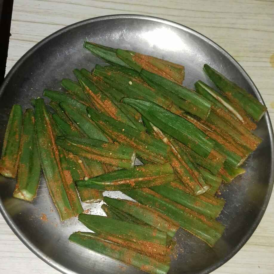 How to make Lady finger fry