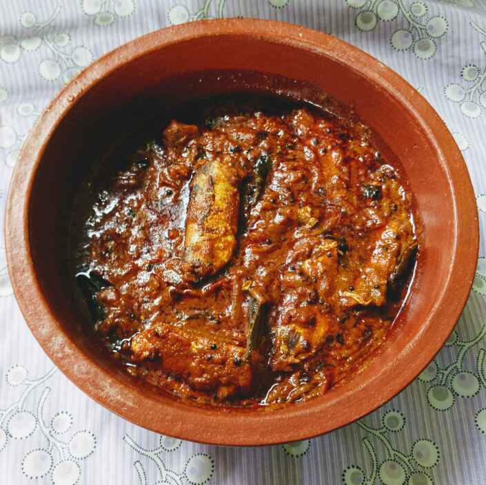 "Photo of "" Chalai meen milagu curry "" by Navas Banu L at BetterButter"