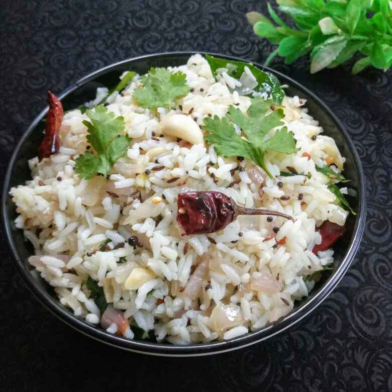 "Photo of "" Garlic rice"" by Navas Banu L at BetterButter"