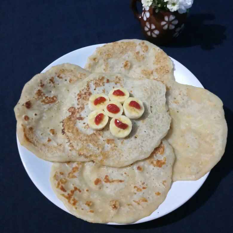 "Photo of "" Banana dosa "" by Navas Banu L at BetterButter"