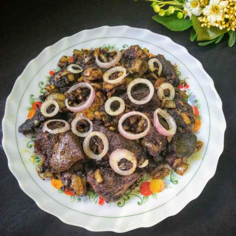 """Photo of """" Mutton suvarotti pepper fry """" by Navas Banu L at BetterButter"""