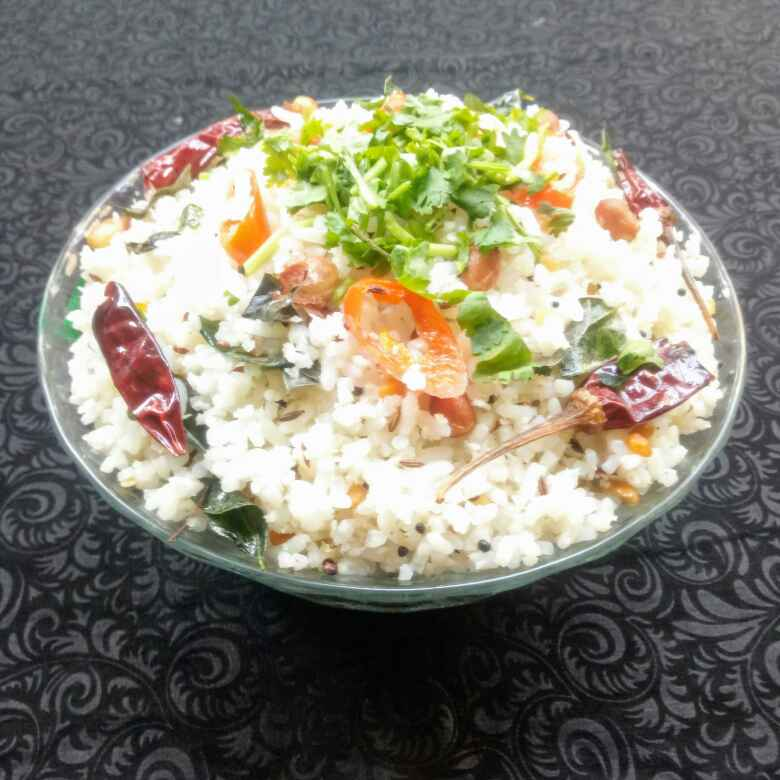 """Photo of """" Coconut Rice """" by Navas Banu L at BetterButter"""
