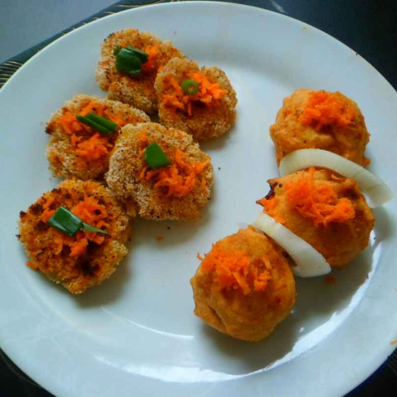 How to make Two in one paneer maagi bonda and tikki