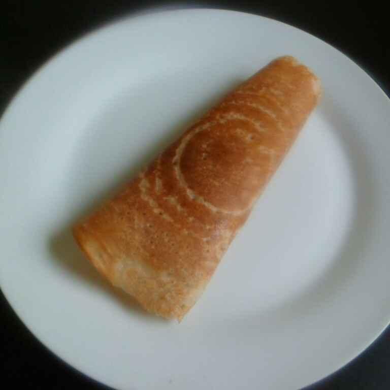 How to make Wheat bread masala dosa