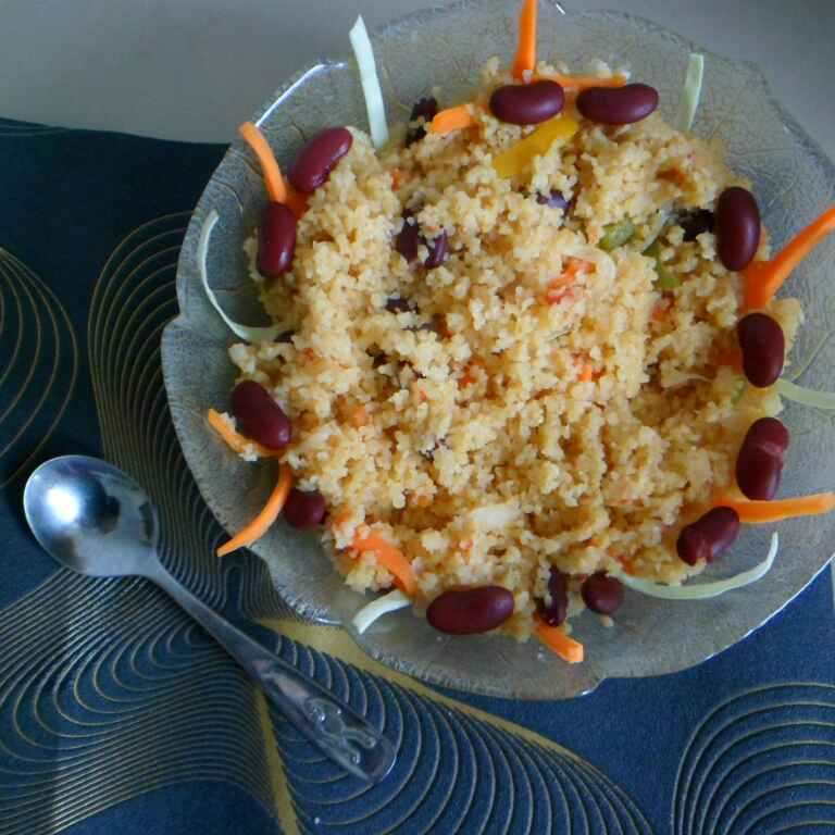 How to make One Pot Vegetable Couscous
