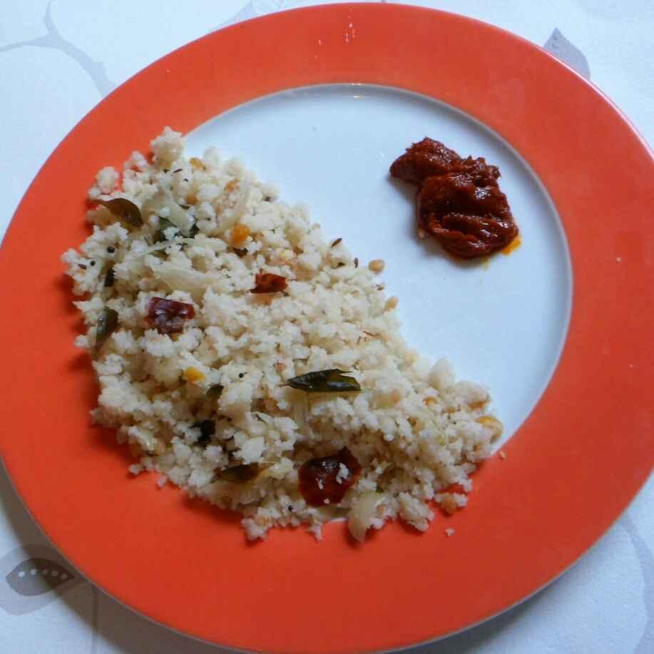 How to make Uppudu pindi(rice flour upma)