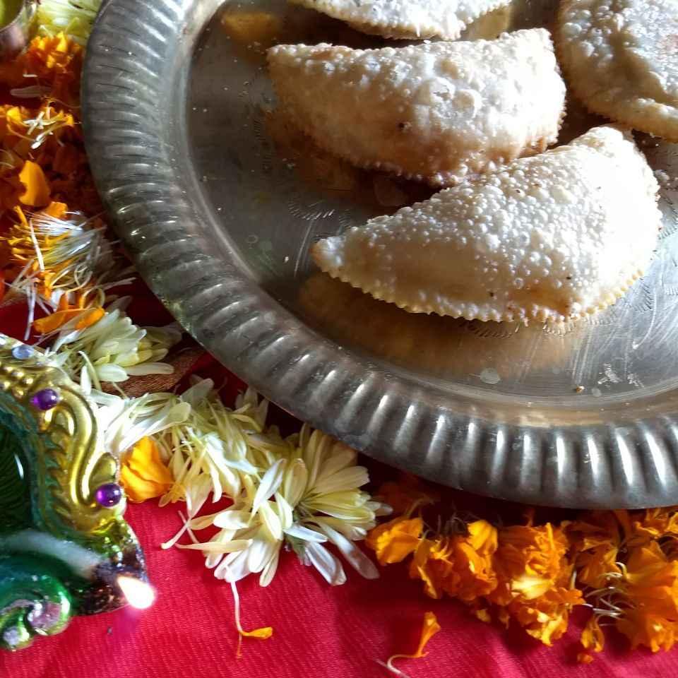 Photo of Crispy Karanji by Nayana Palav at BetterButter