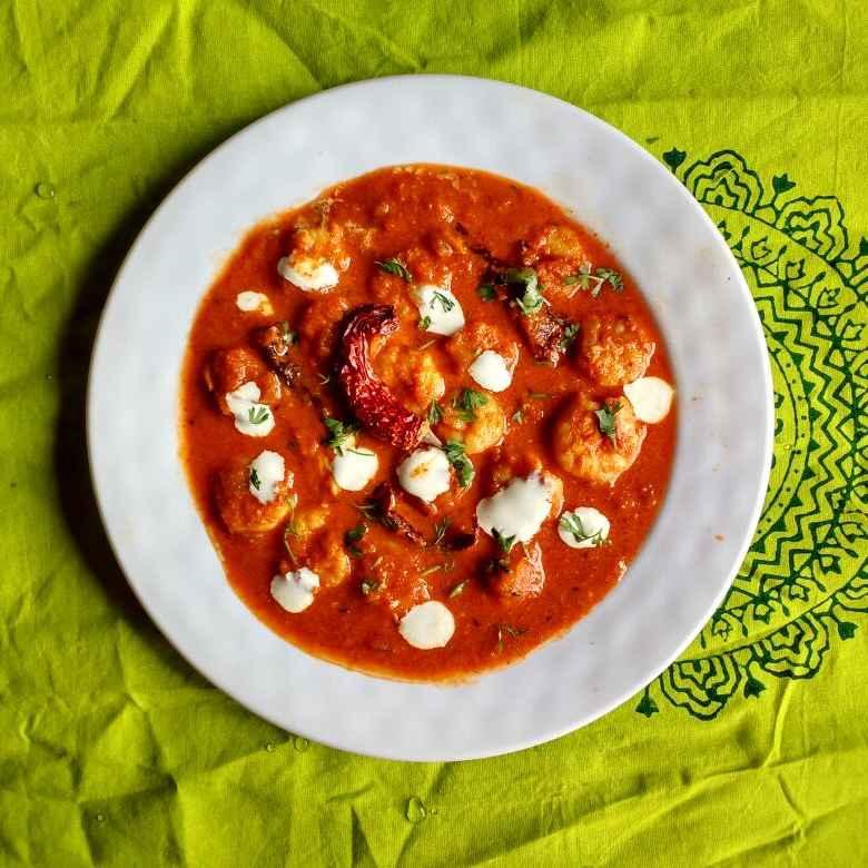 How to make Chingari Malai Curry