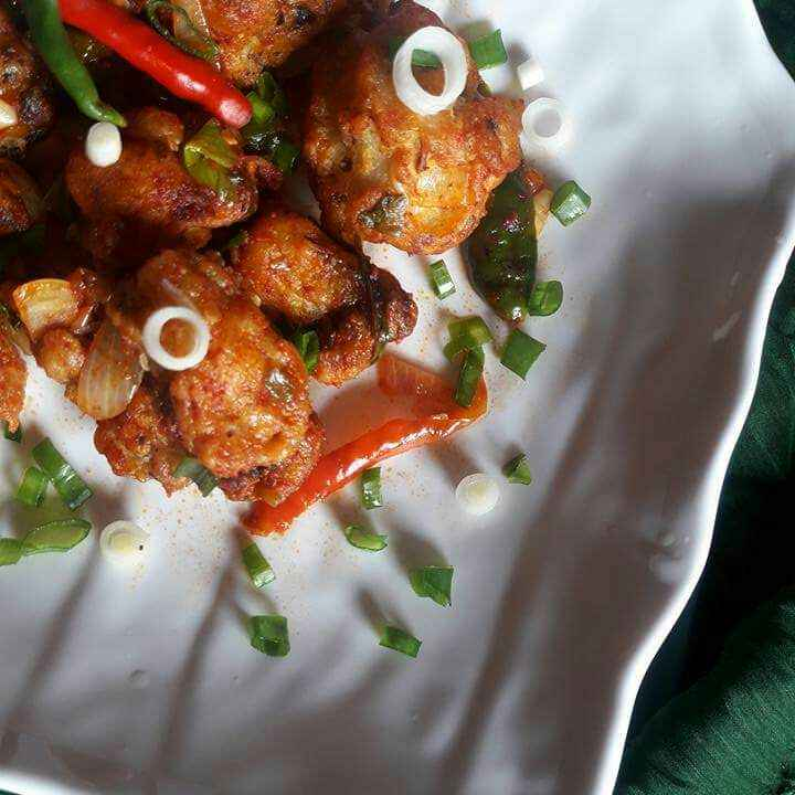 How to make Cauliflower Dry Manchurian
