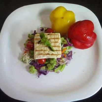 How to make Grilled Paneer Salad