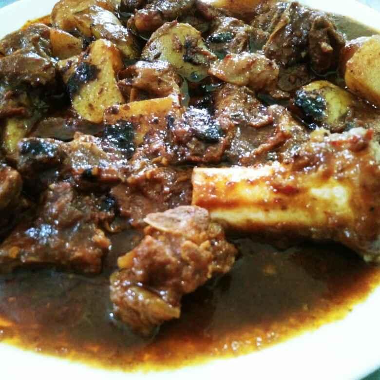 Photo of Chinese mutton curry by Nazeema Banu at BetterButter
