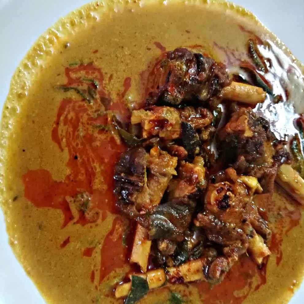Photo of Aattukaal gravy by Nazeema Banu at BetterButter