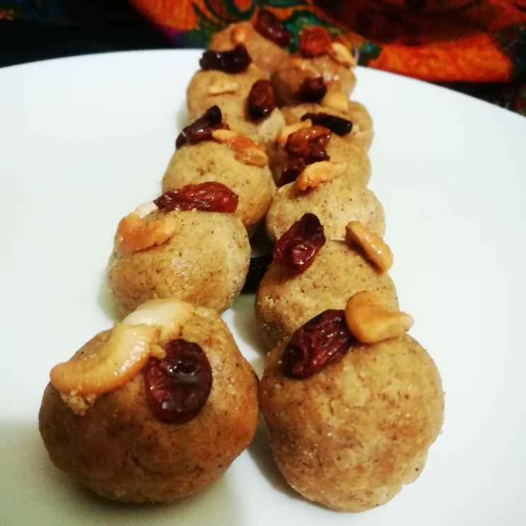Photo of Paasiparuppu Laddoo by Nazeema Banu at BetterButter