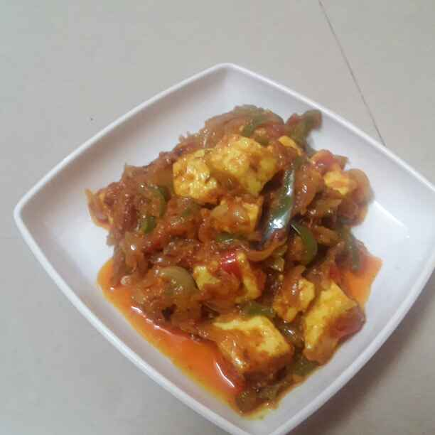 How to make Capsicum Paneer Curry