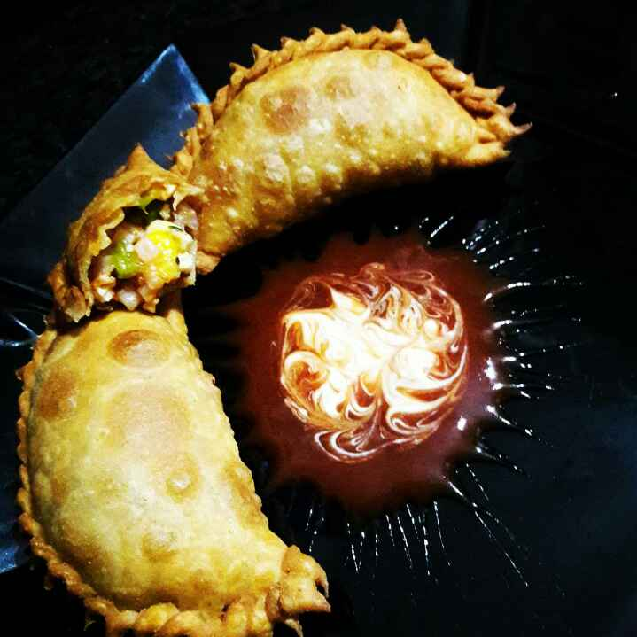 Photo of Spicy Paneer Gujiya by Neelam Barot at BetterButter