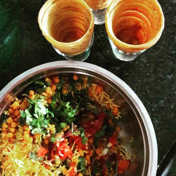 Photo of Cone Chaat by Neelam Barot at BetterButter