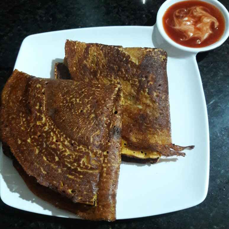 Photo of Cheesy Chilla by Neelam Barot at BetterButter