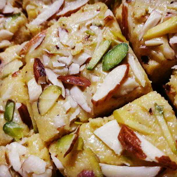 Photo of Magas/besan barfi by Neelam Barot at BetterButter