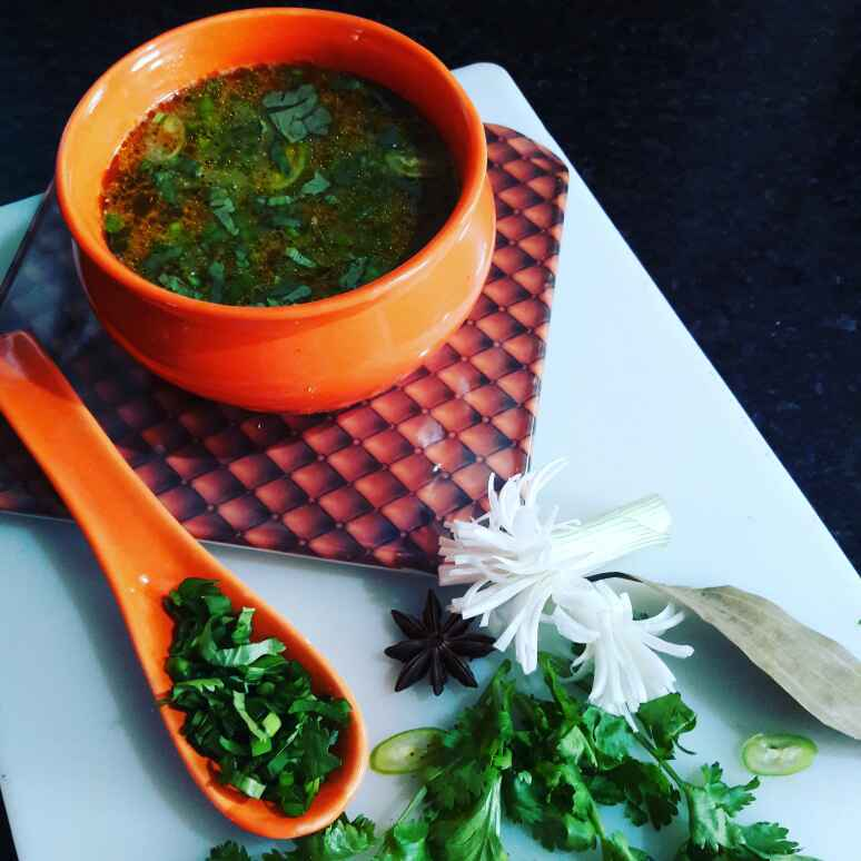 How to make Spicy Millet (Bajra) Soup