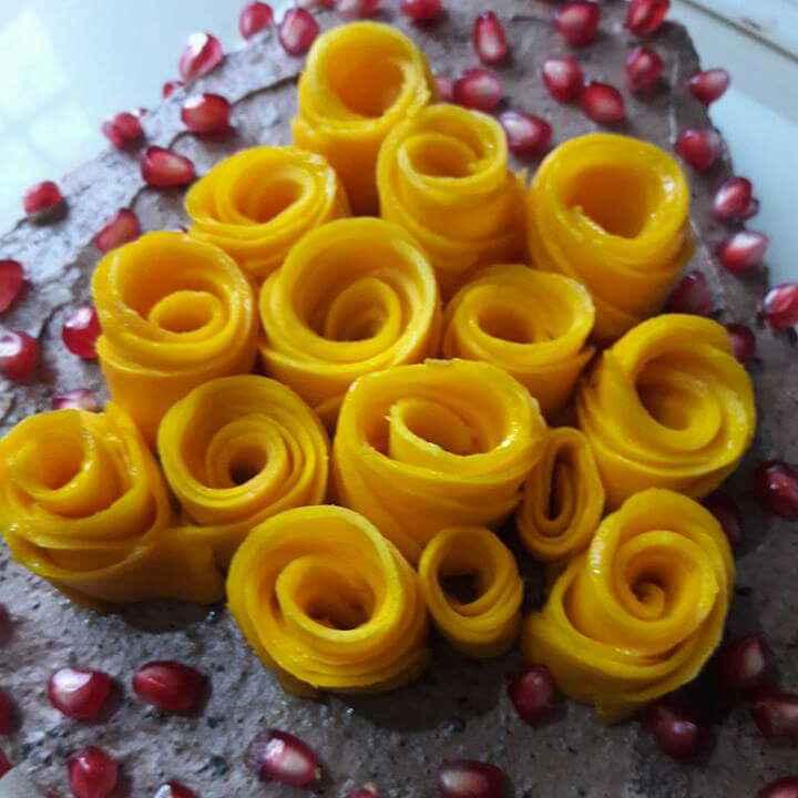 Photo of Mango Chocolate Cake by Neelam Barot at BetterButter