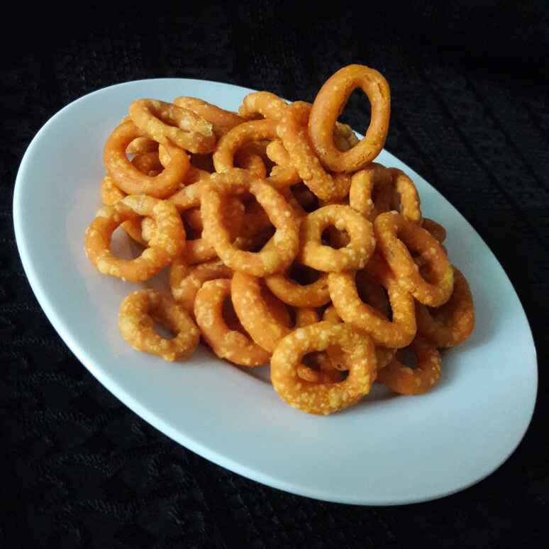Photo of Ring Murukku/ Ring Chakri by Neelam Barot at BetterButter