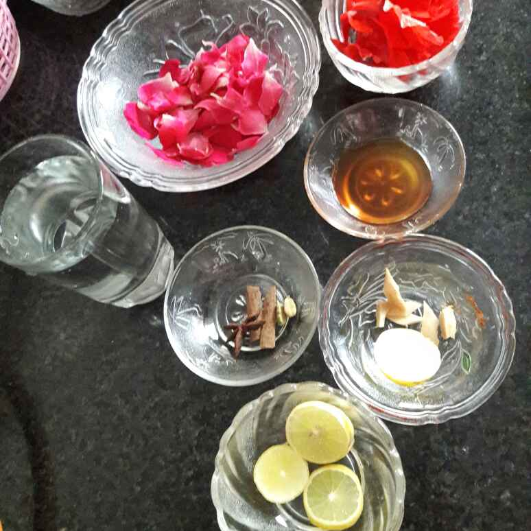 Photo of Red Herbal Tea / Magical Drink by Neelam Barot at BetterButter