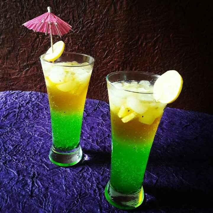Photo of Kiwi orange lemonade by Neelam Barot at BetterButter