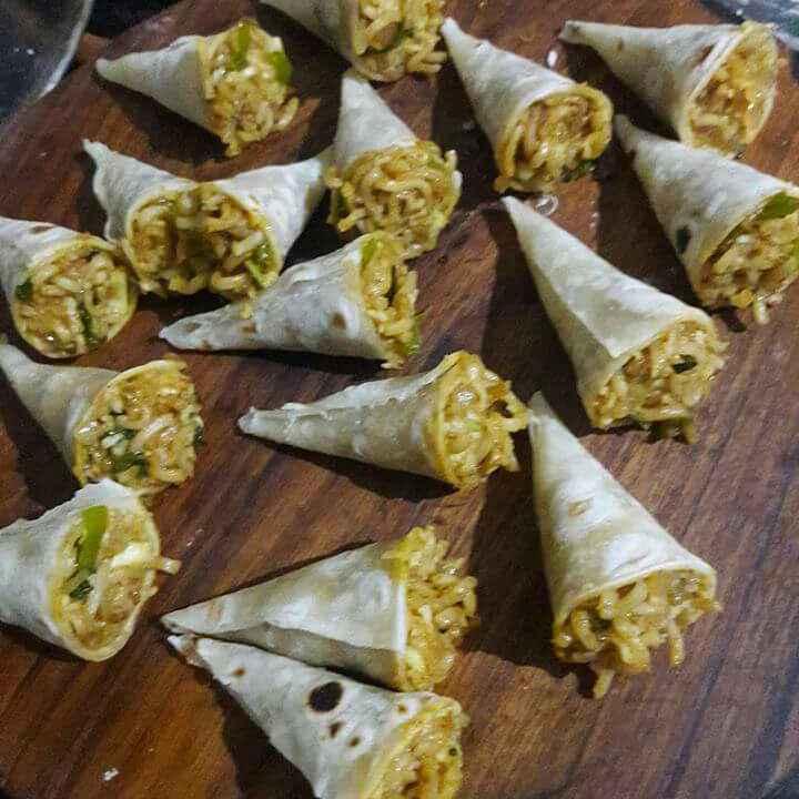 How to make Cheesy Maggi Cone