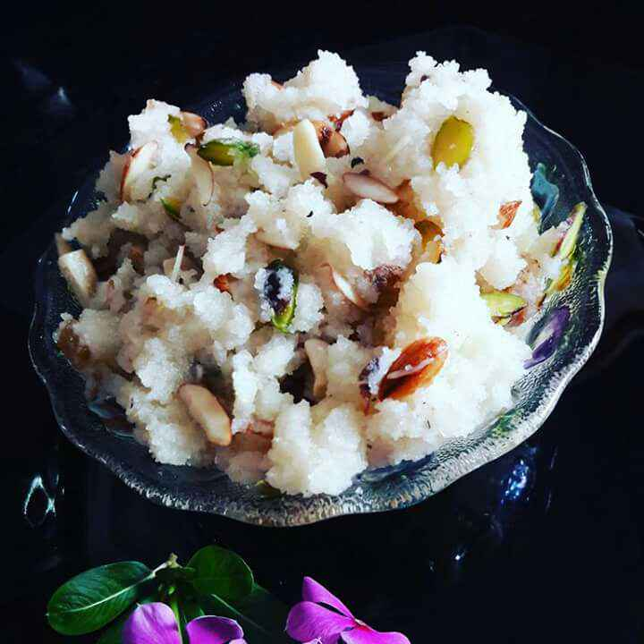 Photo of Mahaprasad / Suji Halwa by Neelam Barot at BetterButter