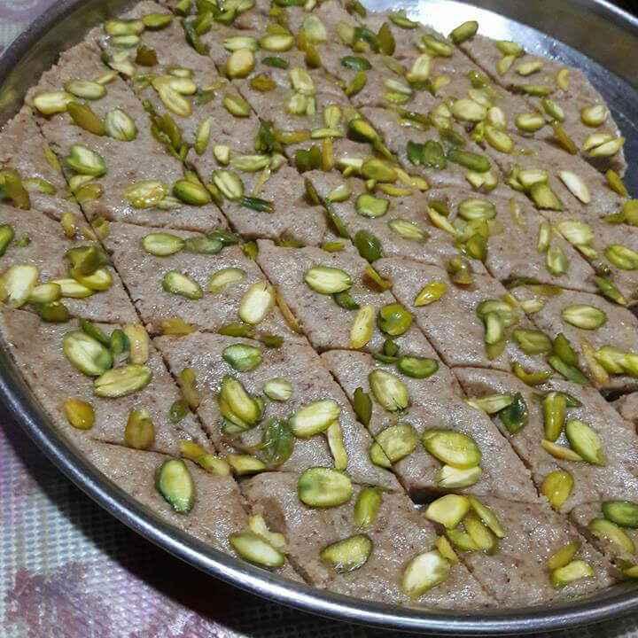 How to make Almond Burfi