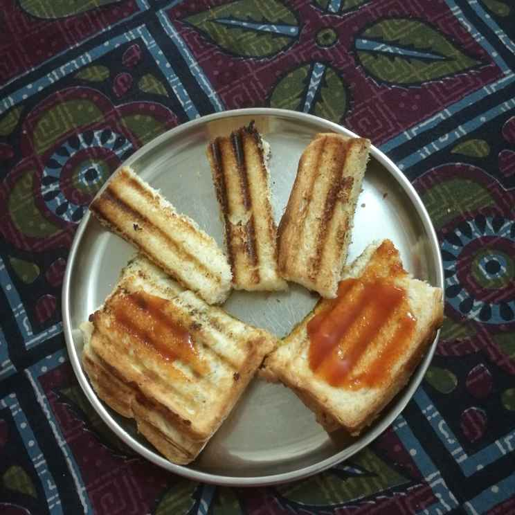 Photo of Veg Grilled Toaster by Neelam Chabriya at BetterButter